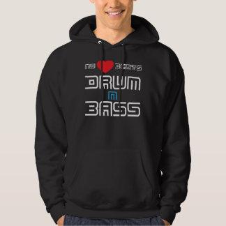 My Heart Beats Drum n Bass Hooded Sweatshirt