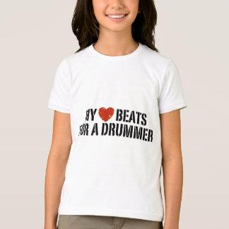 My Heart Beats For a Drummer T-Shirt