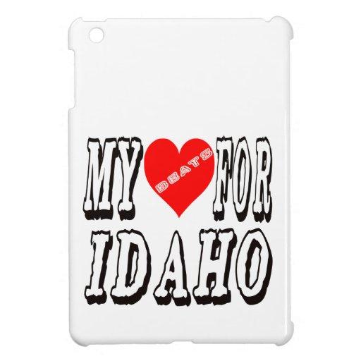 My Heart Beats For IDAHO. iPad Mini Cases