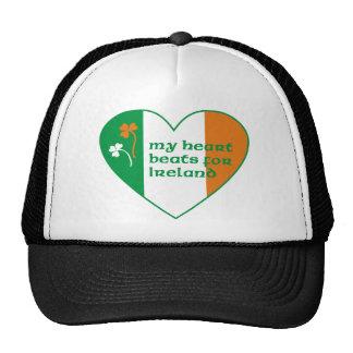 My heart beats for Ireland Trucker Hat