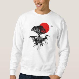 My Heart Beats for Japan Crewneck Sweater Pullover Sweatshirt