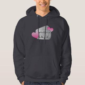 my heart beats for me hero hoodie