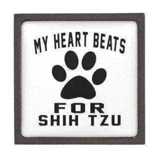 MY HEART BEATS FOR SHIH TZU PREMIUM TRINKET BOX
