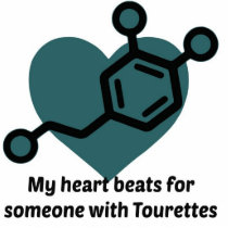 My heart beats for someone with Tourettes Statuette
