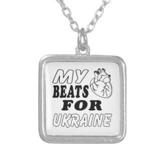 My Heart Beats For Ukraine. Necklace