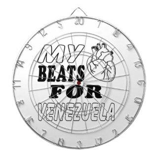 My Heart Beats For Venezuela. Dart Board