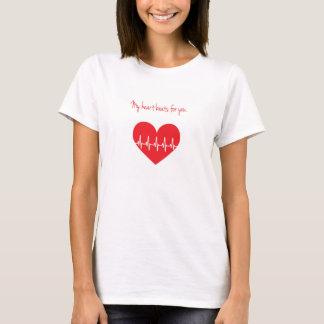 My heart beats for you T-Shirt