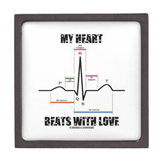 My Heart Beats With Love (Electrocardiogram ECG) Gift Box