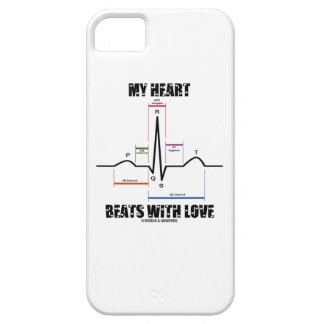 My Heart Beats With Love (Electrocardiogram ECG) iPhone SE/5/5s Case