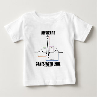 My Heart Beats With Love (Electrocardiogram) T-shirt