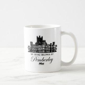 My Heart Belongs At Pemberley Mugs
