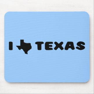 My heart belongs in Texas (2) Mouse Pad
