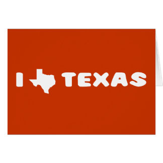 My heart belongs in Texas Card