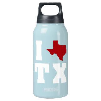 My heart belongs in Texas Insulated Water Bottle