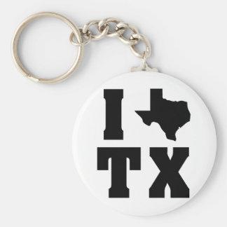 My heart belongs in Texas (sq) 2 Keychain