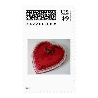 My Heart Belongs Postage Stamp