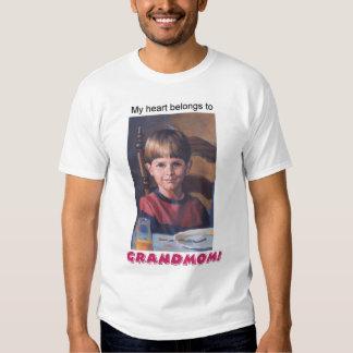 My heart belongs... tee shirts