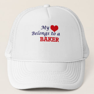 My heart belongs to a Baker Trucker Hat