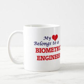 My heart belongs to a Biometric Engineer Coffee Mug