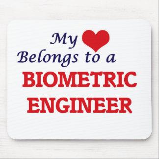 My heart belongs to a Biometric Engineer Mouse Pad