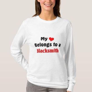 My heart belongs to a Blacksmith T-Shirt