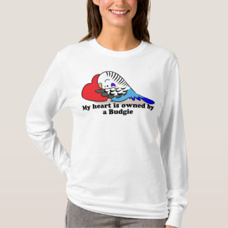 My heart belongs to a blue budgie T-Shirt