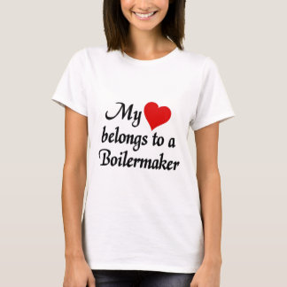 My heart belongs to a Boilermaker T-Shirt