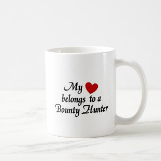 My heart belongs to a Bounty Hunter Coffee Mug