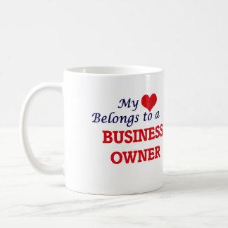 My heart belongs to a Business Owner Coffee Mug