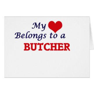 My heart belongs to a Butcher Card