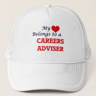 My heart belongs to a Careers Adviser Trucker Hat