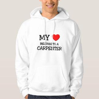 My Heart Belongs To A CARPENTER Hoodie