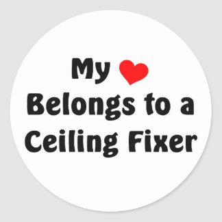 My heart belongs to a Ceiling Fixer Stickers