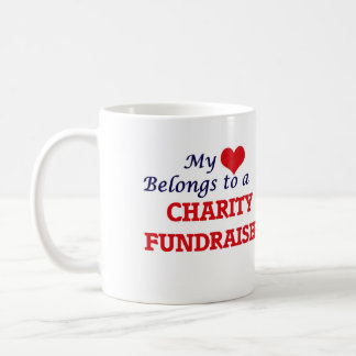 My heart belongs to a Charity Fundraiser Coffee Mug
