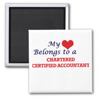 My heart belongs to a Chartered Certified Accounta Magnet