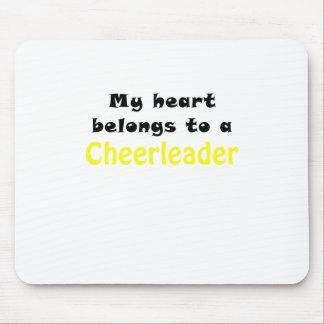 My Heart Belongs to a Cheerleader Mouse Pad