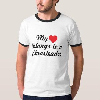 My heart belongs to a cheerleader T-Shirt