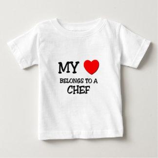 My Heart Belongs To A CHEF T-shirt