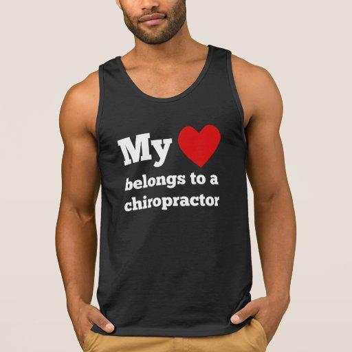My Heart Belongs To A Chiropractor Tank Top Tank Tops, Tanktops Shirts