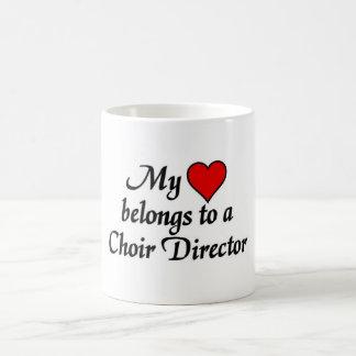 My heart belongs to a Choir Director Coffee Mug