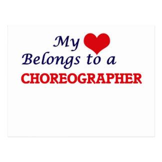 My heart belongs to a Choreographer Postcard