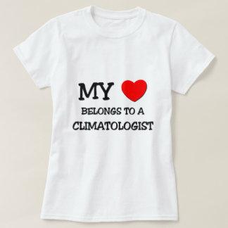 My Heart Belongs To A CLIMATOLOGIST T-shirt