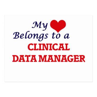 My heart belongs to a Clinical Data Manager Postcard
