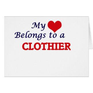 My heart belongs to a Clothier Card