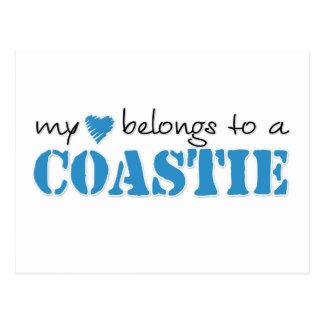 My Heart Belongs To A Coastie Postcard