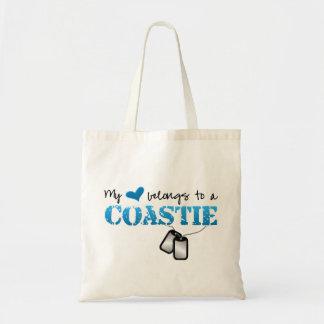 My heart belongs to a Coastie Tote Bag