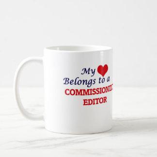 My heart belongs to a Commissioning Editor Coffee Mug