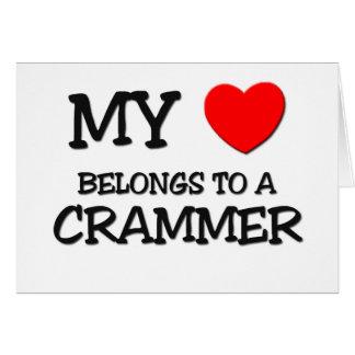 My Heart Belongs To A CRAMMER Cards