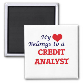 My heart belongs to a Credit Analyst Magnet