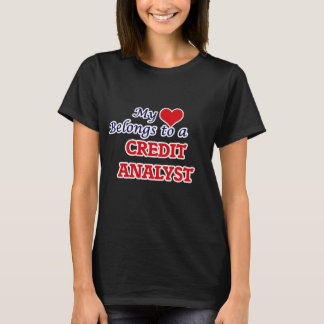 My heart belongs to a Credit Analyst T-Shirt